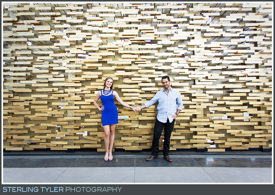 Downtown Los Angeles Engagement Portrait Photography