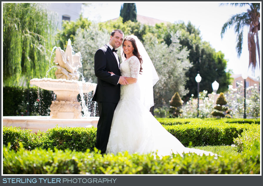 The Taglyan Cultural Complex Wedding Portrait Photo