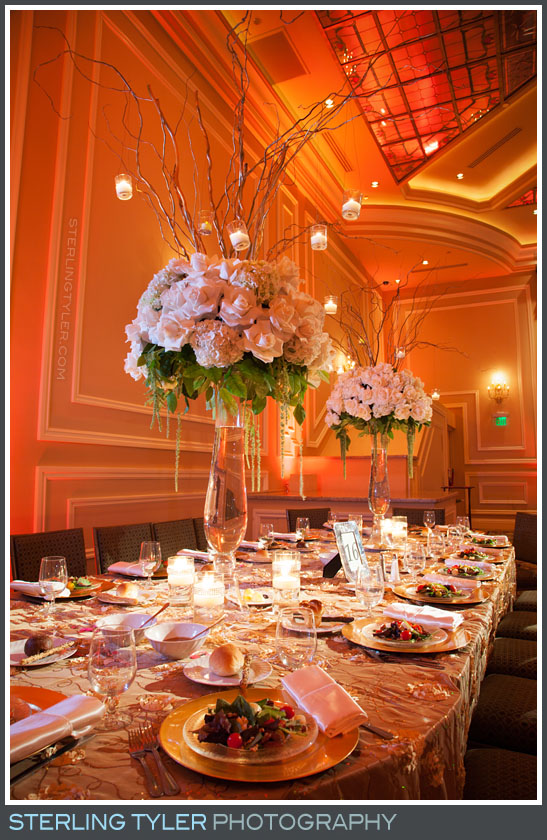 The Taglyan Cultural Complex Wedding Reception Photo
