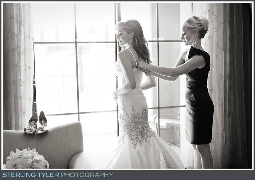 The Westin Lake Las Vegas Wedding Portrait Photo