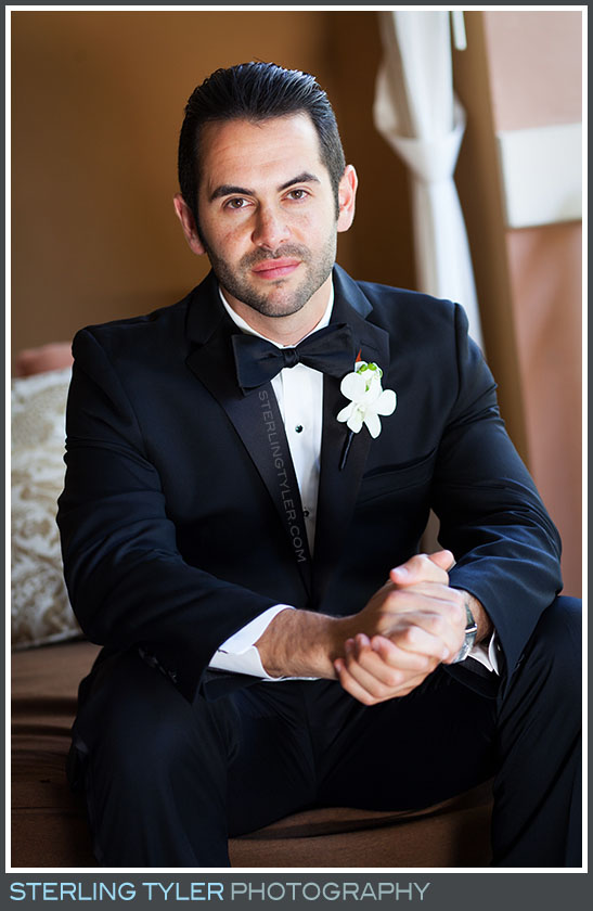 The Westin Lake Las Vegas Wedding Groom Portrait Photography