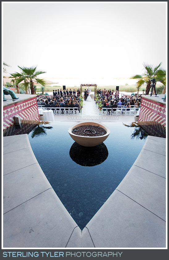The Westin Lake Las Vegas Wedding Ceremony Photography