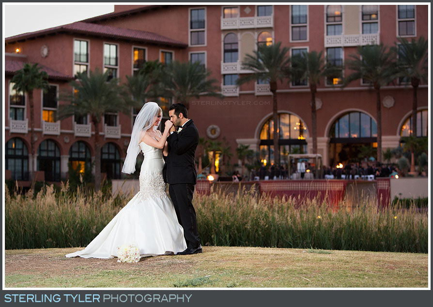 The Westin Lake Las Vegas Wedding Portraits Photo