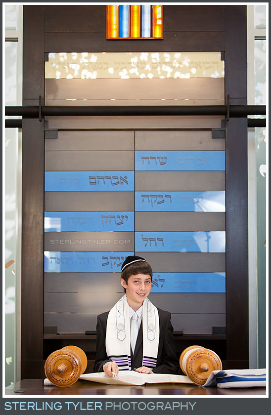 The Temple Judea Bar Mitzvah Portrait Photography