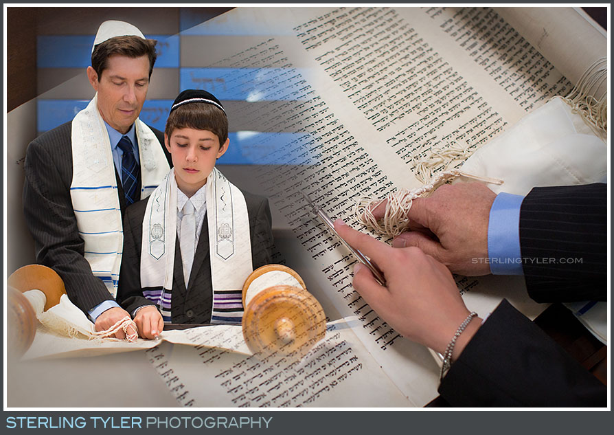 The Temple Judea Bar Mitzvah Portrait Photos