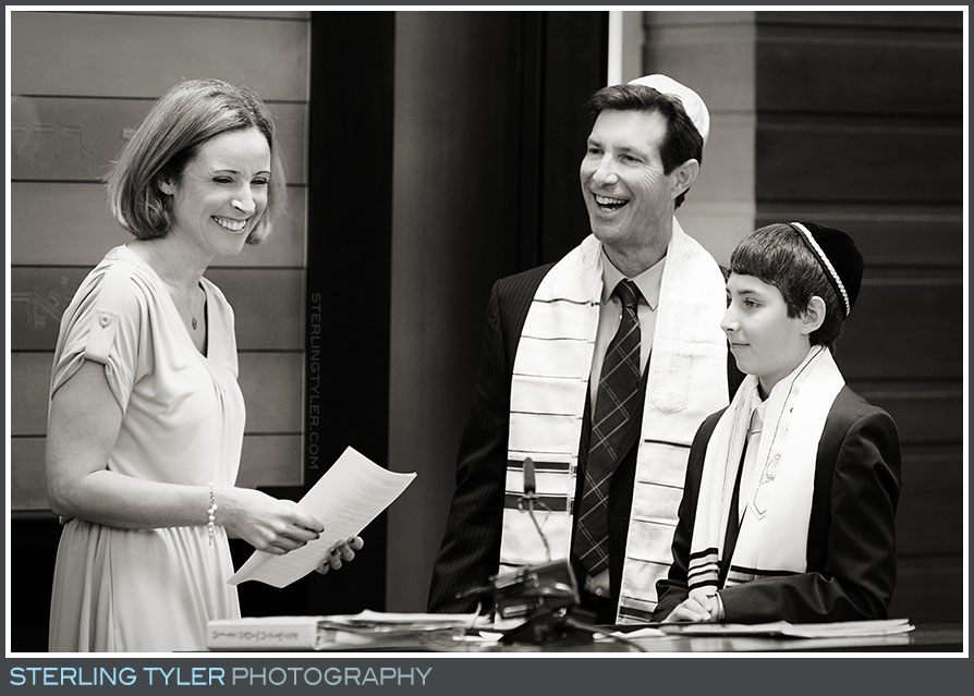 The Temple Judea Bar Mitzvah Service Photography