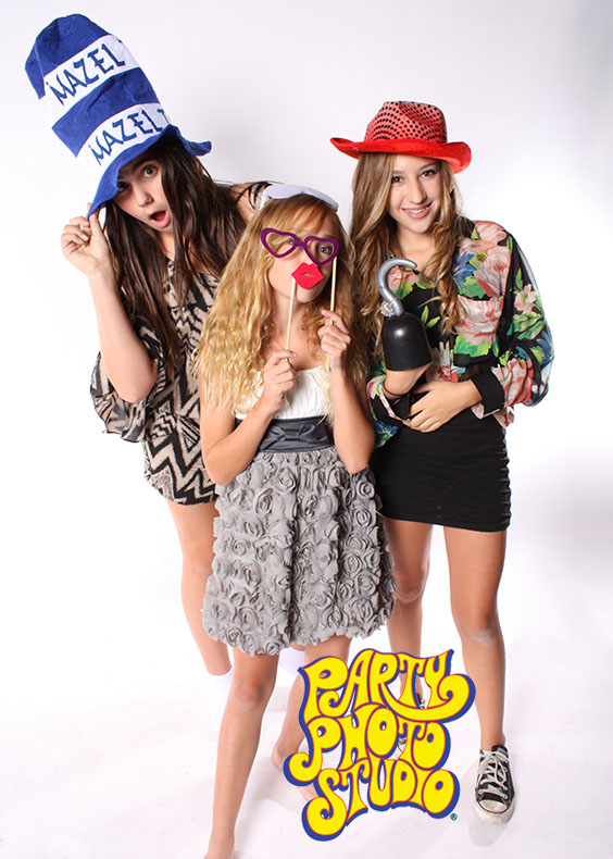 The Jillians Bar Mitzvah Reception Party Photo Studio Photography