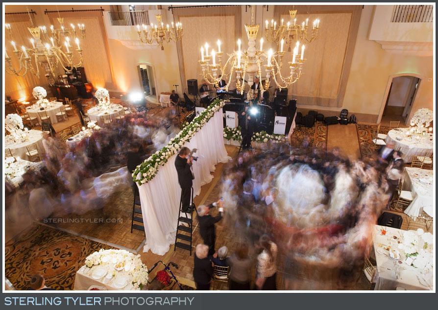 wedding reception dancing montage beverly hills